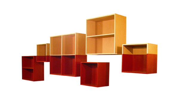 Satellite Shelving System by Kennedy Telford, 2006. Contemporary art, design, and objects from Oscar & Kennedy.