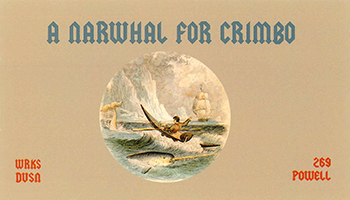 A_NARWHAL_FOR_CRIMBO_poster_100dpi_web